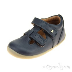 Bobux Jack and Jill Boys Girls Navy Shoe