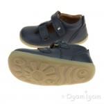 Bobux Jack and Jill Boys Girls Navy Shoe