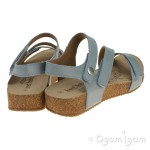 Josef Seibel Tonga 25 Womens Blue Sandal
