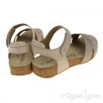 Josef Seibel Tonga 49 Womens Nude Sandal