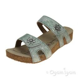 Josef Seibel Tonga 04 Womens Mint Combi Sandal