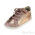 Shoo Pom Bouba Zip Box Infant Girls Copper-Powder Shoe
