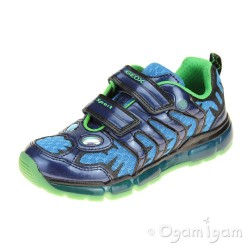 Geox Android Boys Navy Trainer