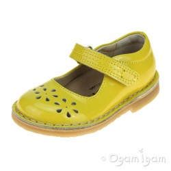 Petasil Ciara Girls Yellow Shoe