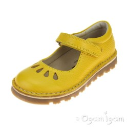 Petasil Cacilda Girls Yellow Shoe