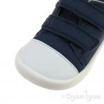 Clarks Tiny Pebble Boys Navy Shoe