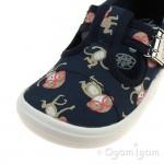 Clarks Briley Sky Infant Boys Blue Combi Shoe