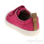 Clarks Halcy Hati Girls Pink Shoe