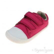 Clarks Tiny Treasure Girls Pink Shoe