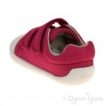 Clarks Tiny Treasure Girls Pink Shoe