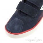 Geox Kilwi Boys Navy-Red Shoe