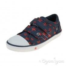 Start-rite Zip Boys Navy Shoe