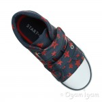 Start-rite Zip Boys Navy Shoe