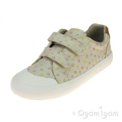 Clarks Comic Cool Girls Cream Shoe