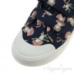 Clarks Comic Air Boys Blue Combi Shoe