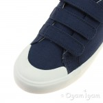 Clarks Comic Trick Boys Navy Shoe