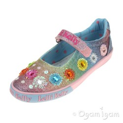 Lelli Kelly Millesoli Girls Multi Glitter Shoe