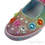 Lelli Kelly Millesoli Girls Multi Glitter Shoe