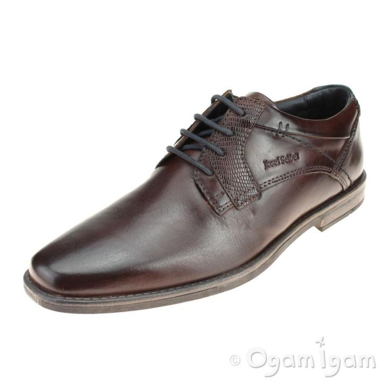 7d8df13009175 Josef Seibel Andrew 21 Mens Brown Shoe | Ogam Igam
