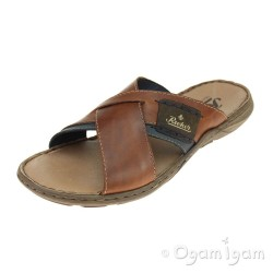 Rieker 2209925 Mens Brown Sandal