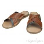 Rieker 2209925 Mens Brown Sandal