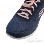 Skechers Flex Appeal Womens Navy Trainer