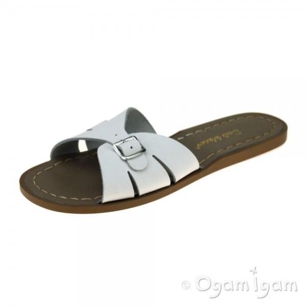 Salt-Water Classic Slides Womens White Sandal