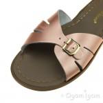 Salt-Water Classic Slides Womens Rose Gold Sandal