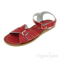 Salt-Water Classic Womens Red Sandal