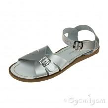 Salt-Water Classic Womens Silver Sandal