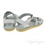Salt-Water Sweetheart White Girls White Sandal
