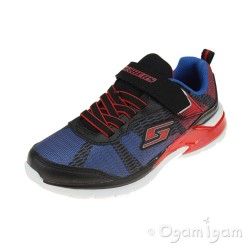 Skechers Erupters Lava Waves Boys Black-Royal Blue Trainer
