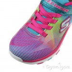 Skechers Trainer Lite DashNDazzle Girls Multi Trainer