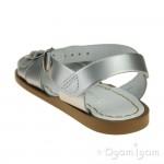 Salt-Water Classic Silver Girls Sandal