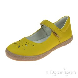 Primigi PTF 14331 Girls Giallo Yellow Shoe