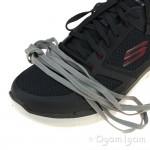 Skechers Flex Advantage Lindman Mens Charcoal-Red Trainer