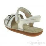 Clarks IvyBlossom Inf Girls White Sandal