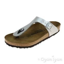 Birkenstock Gizeh Womens Graceful Silver Sandal