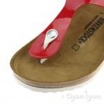Birkenstock Gizeh Womens Patent Tango Red Sandal