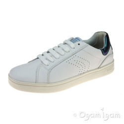 Geox DJ Rock Girls White Shoe