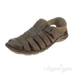 Josef Seibel Logan 36 Mens Brown Sandal