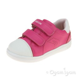 Geox DJ Rock Girls Dark Fuchsia Shoe