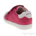 Geox DJ Rock Girls Dark Fuchsia Shoe