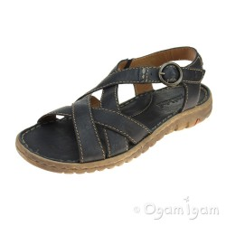 Josef Seibel Lucia 01 Womens Dark Blue Sandal