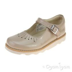 Clarks Crown Jump Girls Blush Shoe