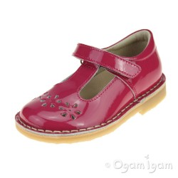 Petasil Cecily Girls Fushia Shoe