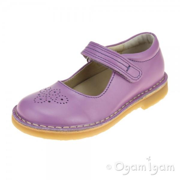 Petasil Celina Girls Lilac Shoe