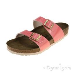 Birkenstock Sydney Womens Patent Coral Sandal