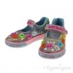 Lelli Kelly Millesoli Junior Girls Multi Glitter Shoe