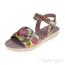 Lelli Kelly Mila Girls Multi Fantasia Sandal
